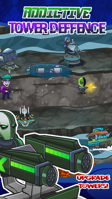 Super-Hero TD Squad – Tower Defence Games for Free