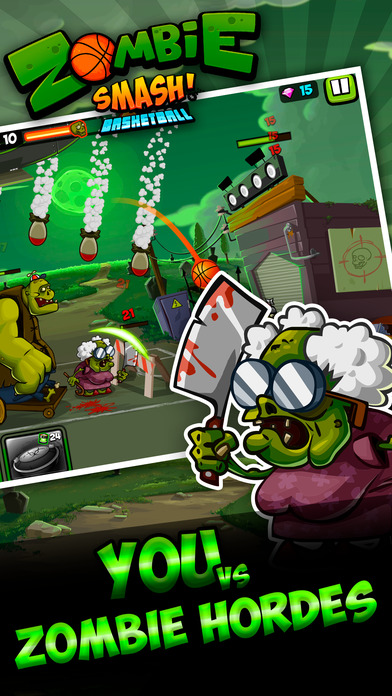 Zombie Smash Basketball – Tower Defense!