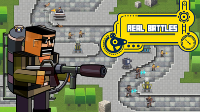 Blockhead Fortress – Modern Warfare Tower Defense