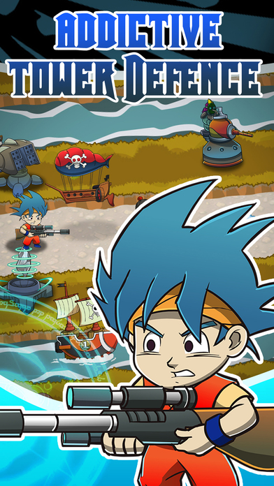 Anime Manga TD Defence – Tower of Legend Game Free